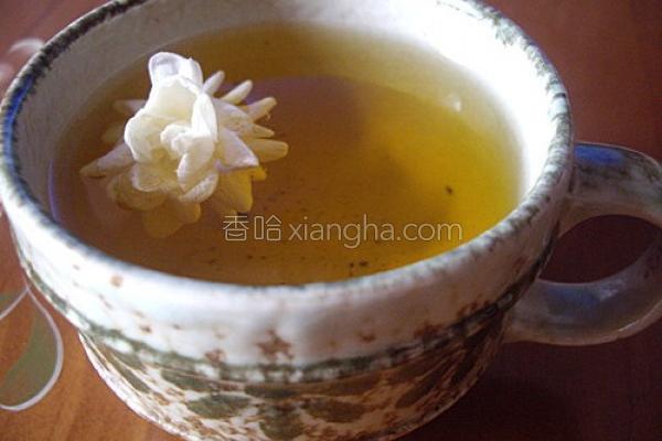 茉莉绿茶的做法