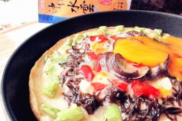水云蔬菜煎饼的做法