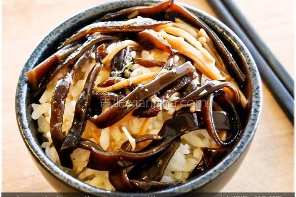 菇菇酱盖饭的做法
