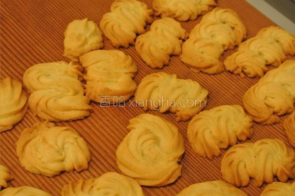 面粉奶酥饼干的做法