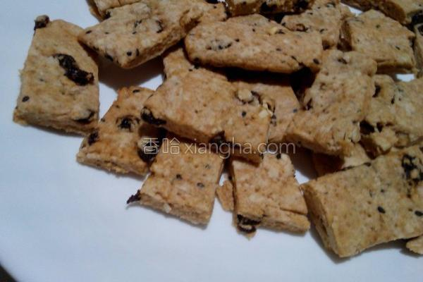 沖绳黑糖燕麦饼干的做法