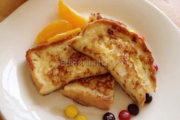 法国吐司早餐的做法
