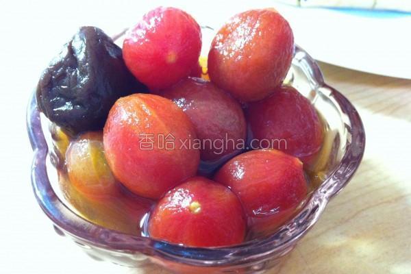 梅汁番茄的做法