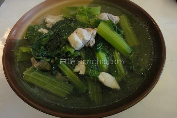 芥菜排骨汤的做法