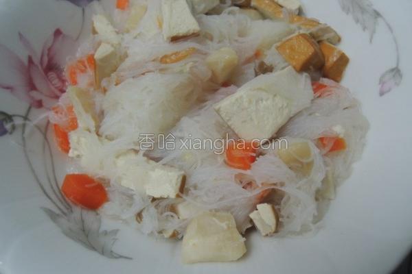 什锦炒米粉的做法
