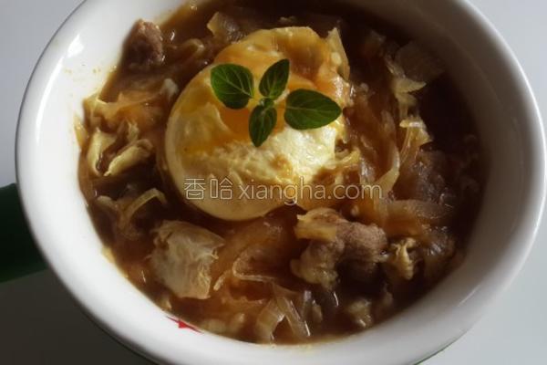 梅花酱油炖饭的做法