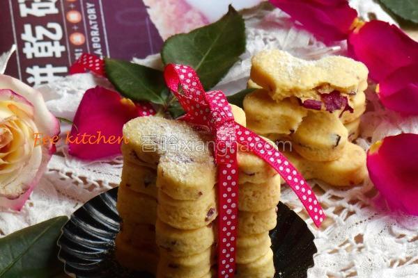 超酥玫瑰花瓣饼干的做法