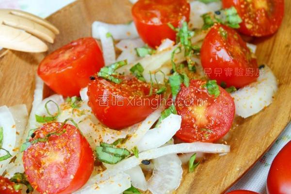 凉拌番茄的做法