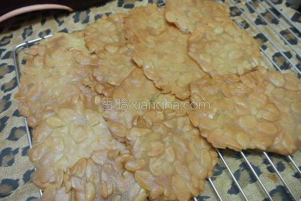 面粉杏仁瓦片的做法