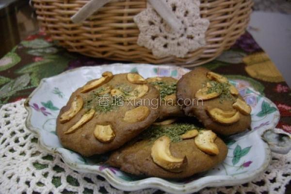 黑糖腰果海苔煎饼的做法