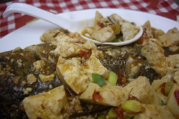 麻婆豆腐烧吴郭的做法