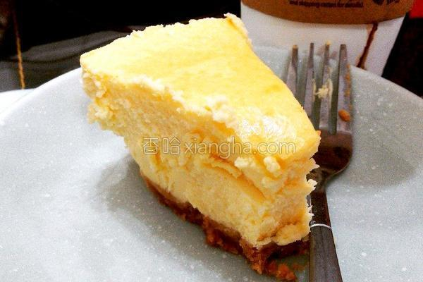 纽约经典起司蛋糕的做法