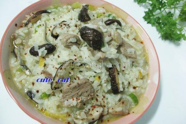 创意米饭咸粥的做法
