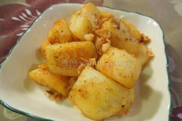 香料煎马铃薯的做法