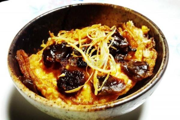桂圆麻油煎蛋的做法