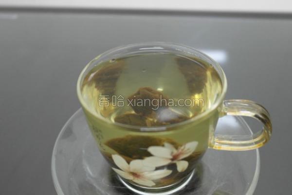 梅子绿茶的做法