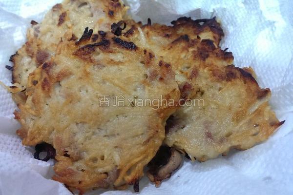 马铃薯煎饼的做法