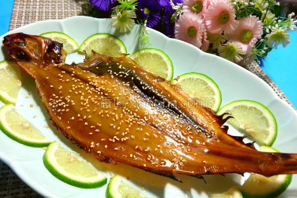 蜜烤鲽鱼的做法