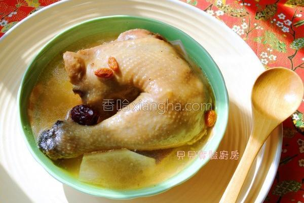 柿子鸡汤的做法