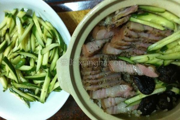咸猪肉炊饭的做法