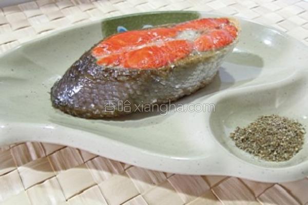 椒盐红鲑的做法