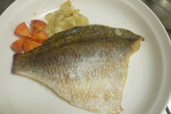 洋葱香烤鱼排的做法