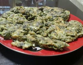 香椿芽煎鸡蛋