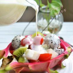 酸奶水果沙拉的做法[图]