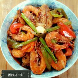 香辣翅中虾的做法[图]