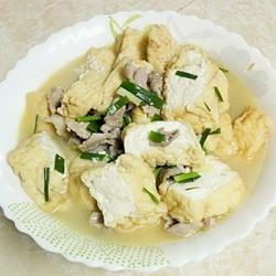 瘦肉煮山水豆腐