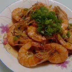 葱虾的做法[图]