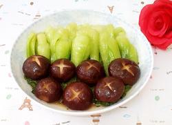 香菇油菜的做法图解8