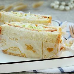 沼夫三明治的做法[图]