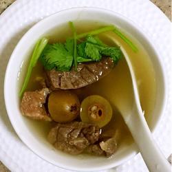 橄榄猪肺汤的做法[图]