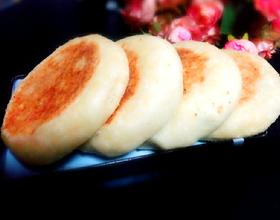 豆渣发面饼