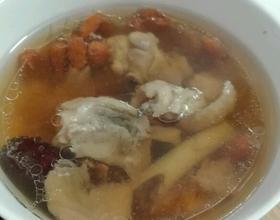 电压力锅红参炖鸡汤