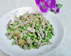 猪肉炒豌豆