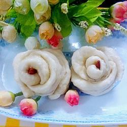 玫瑰花馒头的做法[图]