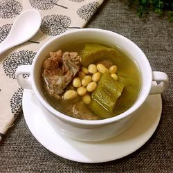 猪骨黄豆苦瓜汤的做法[图]