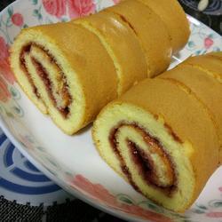 蛋糕卷的做法[图]
