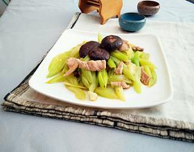 芹菜炒肉片
