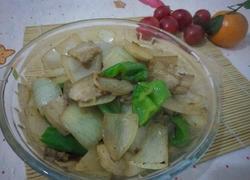 青椒洋葱五花肉