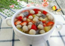 水果珍珠圆子