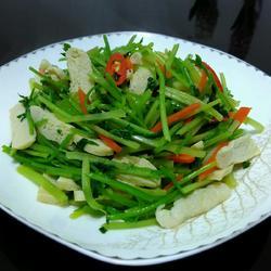 芹菜炒白干