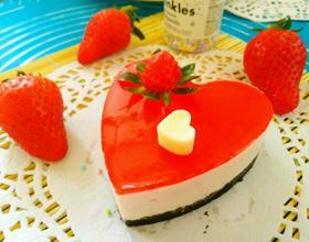 草莓酸奶慕斯