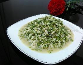 香椿拌豆腐[图]