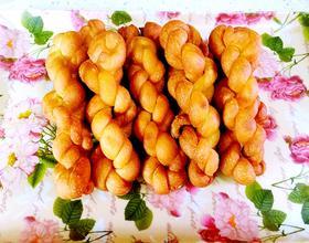 牛奶蜂蜜软麻花