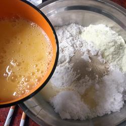 黄油面包卷的做法图解1