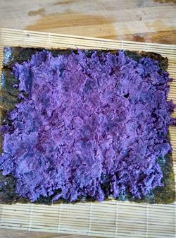 紫薯寿司的做法图解10