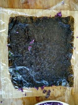 紫薯寿司的做法图解11